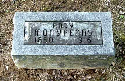 MONYPENNY, ANDY - Gallia County, Ohio | ANDY MONYPENNY - Ohio Gravestone Photos