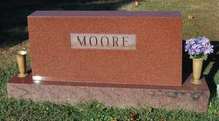 MOORE, FAMILY MONUMENT - Gallia County, Ohio | FAMILY MONUMENT MOORE - Ohio Gravestone Photos