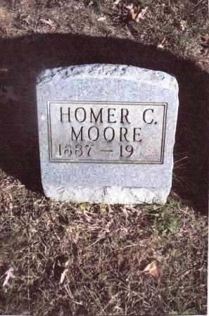 MOORE, HOMER C. - Gallia County, Ohio | HOMER C. MOORE - Ohio Gravestone Photos