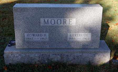 MOORE, HOWARD H. - Gallia County, Ohio | HOWARD H. MOORE - Ohio Gravestone Photos