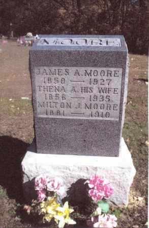 MOORE, JAMES A. - Gallia County, Ohio | JAMES A. MOORE - Ohio Gravestone Photos