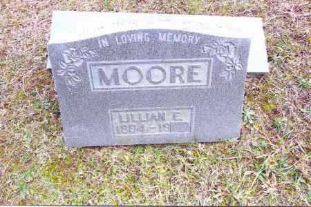 MOORE, LILLIAN E. - Gallia County, Ohio | LILLIAN E. MOORE - Ohio Gravestone Photos