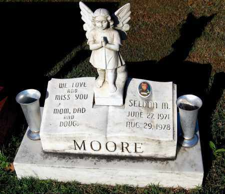 MOORE, SELDON M. - Gallia County, Ohio | SELDON M. MOORE - Ohio Gravestone Photos