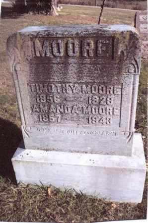 MOORE, AMANDA - Gallia County, Ohio | AMANDA MOORE - Ohio Gravestone Photos