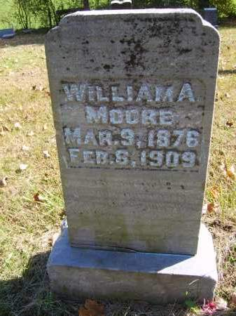 MOORE, WILLIAM - Gallia County, Ohio | WILLIAM MOORE - Ohio Gravestone Photos
