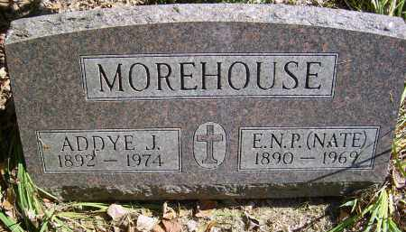MOREHOUSE, E.N.P. (NATE) - Gallia County, Ohio | E.N.P. (NATE) MOREHOUSE - Ohio Gravestone Photos