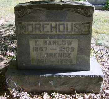 MOREHOUSE, FLORENCE - Gallia County, Ohio | FLORENCE MOREHOUSE - Ohio Gravestone Photos