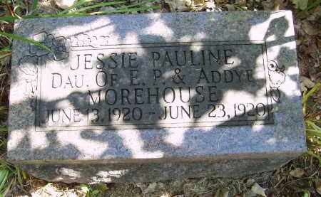 MOREHOUSE, JESSIE - Gallia County, Ohio | JESSIE MOREHOUSE - Ohio Gravestone Photos