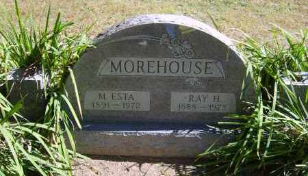 MOREHOUSE, M. - Gallia County, Ohio | M. MOREHOUSE - Ohio Gravestone Photos