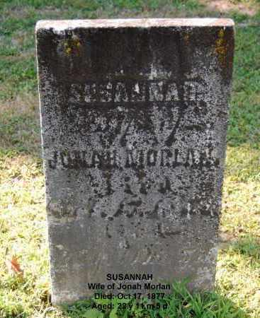 MORLAN, SUSANNAH - Gallia County, Ohio | SUSANNAH MORLAN - Ohio Gravestone Photos