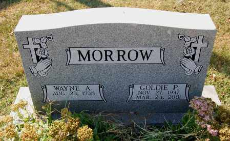 MORROW, WAYNE A. - Gallia County, Ohio | WAYNE A. MORROW - Ohio Gravestone Photos