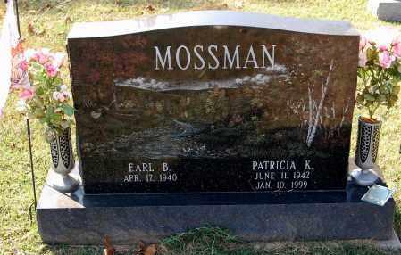 MOSSMAN, EARL B. - Gallia County, Ohio | EARL B. MOSSMAN - Ohio Gravestone Photos