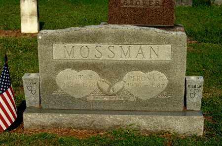 MOSSMAN, VERONA G - Gallia County, Ohio | VERONA G MOSSMAN - Ohio Gravestone Photos