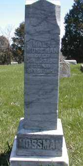 MOSSMAN, WILLIAM - Gallia County, Ohio | WILLIAM MOSSMAN - Ohio Gravestone Photos