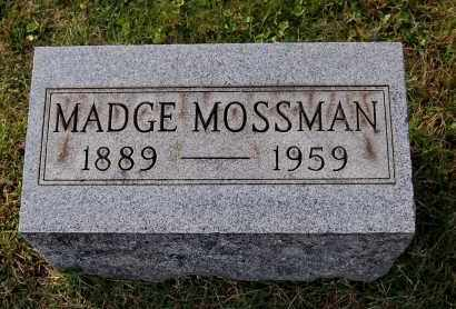 MOSSMAN, MADGE - Gallia County, Ohio | MADGE MOSSMAN - Ohio Gravestone Photos