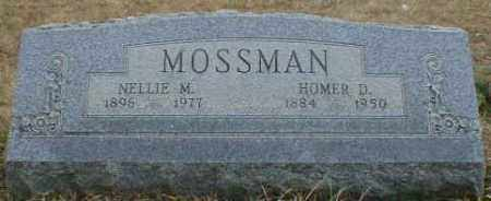 MOSSMAN, HOMER - Gallia County, Ohio | HOMER MOSSMAN - Ohio Gravestone Photos