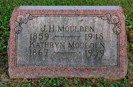 MOULDEN, KATHRYN - Gallia County, Ohio | KATHRYN MOULDEN - Ohio Gravestone Photos