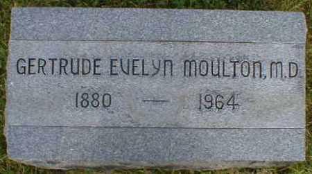 MOULTON, EVELYN - Gallia County, Ohio | EVELYN MOULTON - Ohio Gravestone Photos