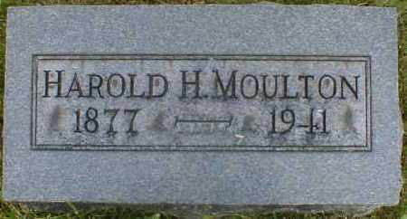 MOULTON, HAROLD - Gallia County, Ohio | HAROLD MOULTON - Ohio Gravestone Photos