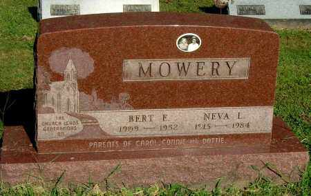 MOWERY, BERT E - Gallia County, Ohio | BERT E MOWERY - Ohio Gravestone Photos