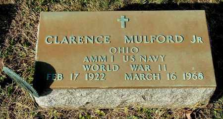 MULFORD, CLARENCE JR - Gallia County, Ohio | CLARENCE JR MULFORD - Ohio Gravestone Photos