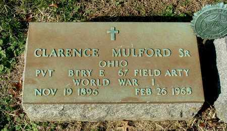MULFORD, CLARENCE, SR. - Gallia County, Ohio | CLARENCE, SR. MULFORD - Ohio Gravestone Photos