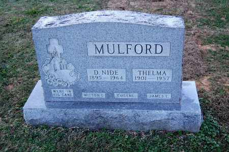 HALLEY MULFORD, THELMA - Gallia County, Ohio | THELMA HALLEY MULFORD - Ohio Gravestone Photos