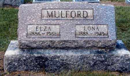 MULFORD, ELZA - Gallia County, Ohio | ELZA MULFORD - Ohio Gravestone Photos