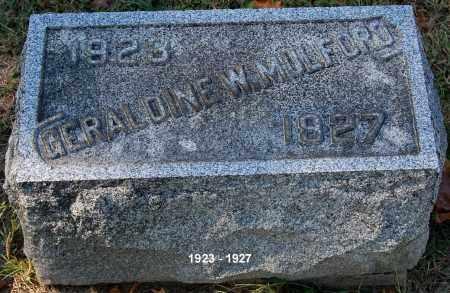 MULFORD, GERALDINE W - Gallia County, Ohio | GERALDINE W MULFORD - Ohio Gravestone Photos