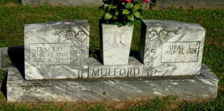 MULFORD, IRA RAY - Gallia County, Ohio | IRA RAY MULFORD - Ohio Gravestone Photos