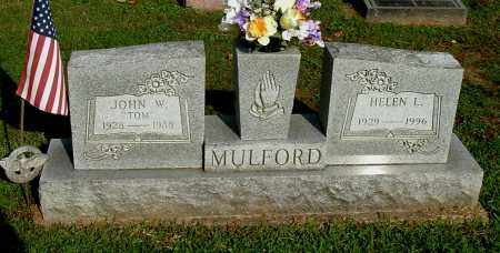 "MULFORD, JOHN WILLIAM ""TOM"" - Gallia County, Ohio 