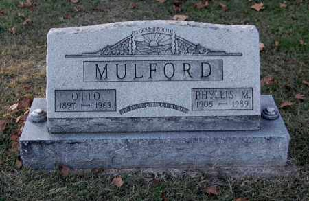 MULFORD, PHYLLIS MARJORIE - Gallia County, Ohio | PHYLLIS MARJORIE MULFORD - Ohio Gravestone Photos