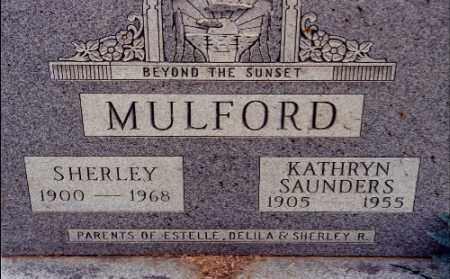 SAUNDERS MULFORD, KATHRYN - Gallia County, Ohio | KATHRYN SAUNDERS MULFORD - Ohio Gravestone Photos