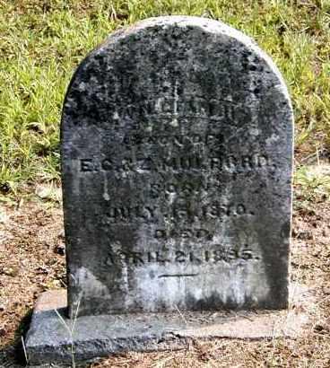 MULFORD, WILLIAM H - Gallia County, Ohio | WILLIAM H MULFORD - Ohio Gravestone Photos