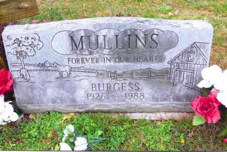 MULLINS, BURGESS - Gallia County, Ohio | BURGESS MULLINS - Ohio Gravestone Photos