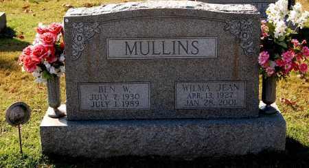MULLINS, BEN W. - Gallia County, Ohio | BEN W. MULLINS - Ohio Gravestone Photos