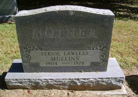 LAWLESS MULLINS, FERNIE - Gallia County, Ohio | FERNIE LAWLESS MULLINS - Ohio Gravestone Photos