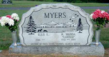 GARDNER MYERS, R WANDA - Gallia County, Ohio | R WANDA GARDNER MYERS - Ohio Gravestone Photos