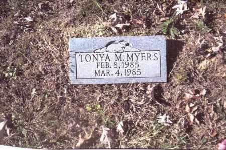 MYERS, TONYA M. - Gallia County, Ohio | TONYA M. MYERS - Ohio Gravestone Photos