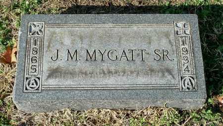 MYGATT, JOHN MARTIN SR - Gallia County, Ohio | JOHN MARTIN SR MYGATT - Ohio Gravestone Photos
