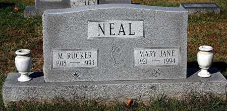 NEAL, RUCKER - Gallia County, Ohio | RUCKER NEAL - Ohio Gravestone Photos