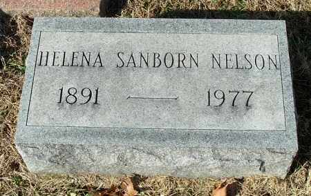 SANBORN NELSON, HELENA - Gallia County, Ohio | HELENA SANBORN NELSON - Ohio Gravestone Photos
