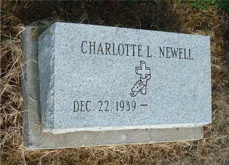 NEWELL, CHARLOTTE L - Gallia County, Ohio | CHARLOTTE L NEWELL - Ohio Gravestone Photos