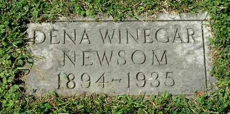 WINEGAR NEWSOM, DENA - Gallia County, Ohio | DENA WINEGAR NEWSOM - Ohio Gravestone Photos