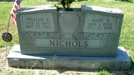 NICHOLS, WILLIAM E - Gallia County, Ohio | WILLIAM E NICHOLS - Ohio Gravestone Photos