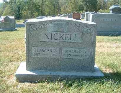 NICKELL, THOMAS S. - Gallia County, Ohio | THOMAS S. NICKELL - Ohio Gravestone Photos