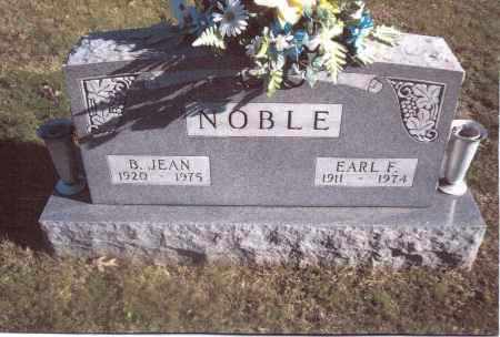 NOBLE, B. JEAN - Gallia County, Ohio | B. JEAN NOBLE - Ohio Gravestone Photos