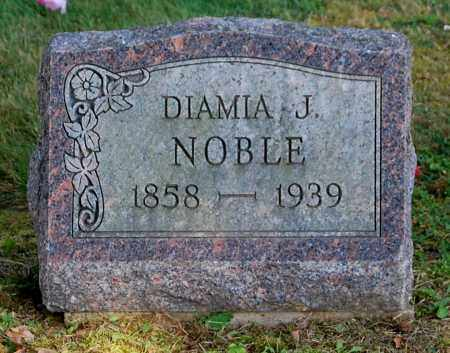 ROGERS NOBLE, DIAMIA JANE - Gallia County, Ohio | DIAMIA JANE ROGERS NOBLE - Ohio Gravestone Photos