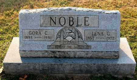 NOBLE, GORA - Gallia County, Ohio | GORA NOBLE - Ohio Gravestone Photos