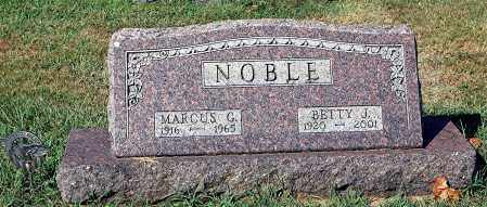 NOBLE, BETTY - Gallia County, Ohio | BETTY NOBLE - Ohio Gravestone Photos